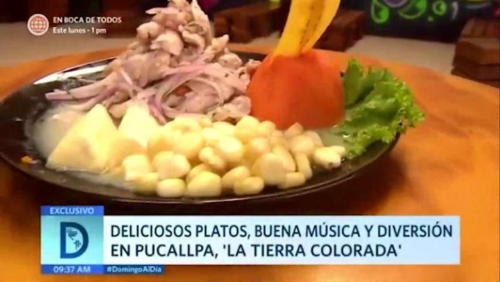 Conoce la increíble gastronomía y música de Pucallpa
