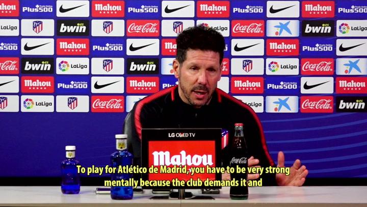 "Simeone: ""Leganés Defend Well"""