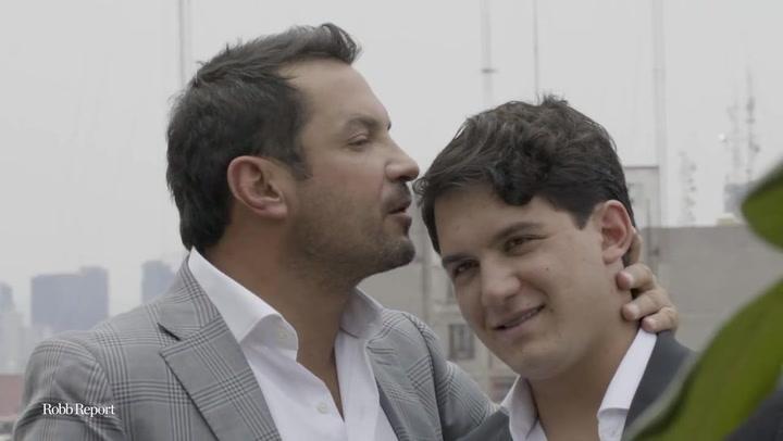 En Robb Sessions, celebramos el Día del Padre con Monte Xanic a Francisco y Gabriel Cabrera
