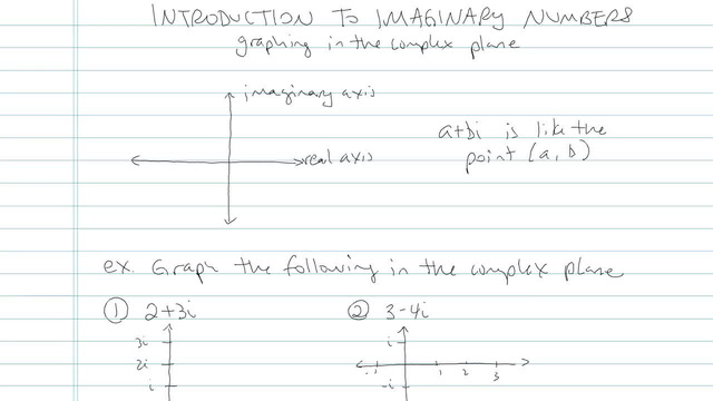 Introduction to Imaginary Numbers - Problem 4