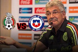 Ricardo Ferretti asegura que no le tienen miedo a Chile