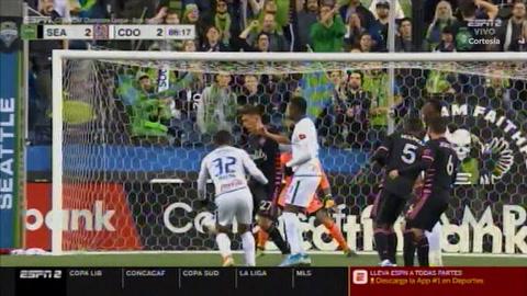 Gol de Carlos Pineda al Seattle Sounders (Concachampions)