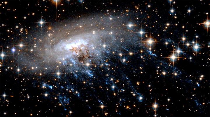 Her rives innvollene ut av galaksen