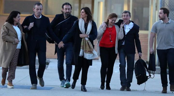 Sandro Rosell sale de la prisión de Soto del Real