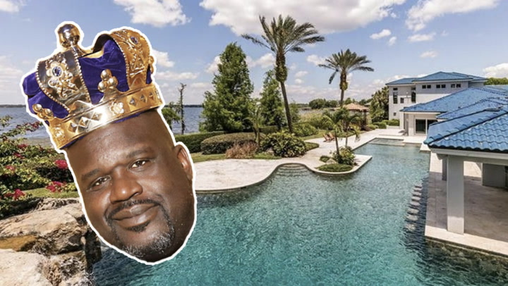 Why We Think Shaq Is Selling His Florida Home After 25 Years
