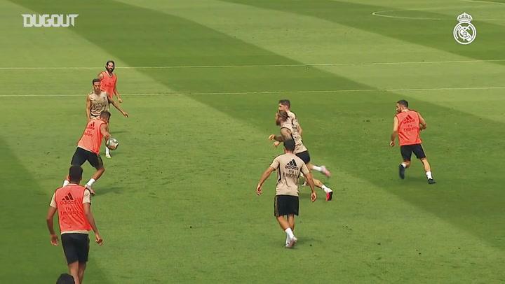 Real Madrid Alaves Maçına Hazırlanıyor