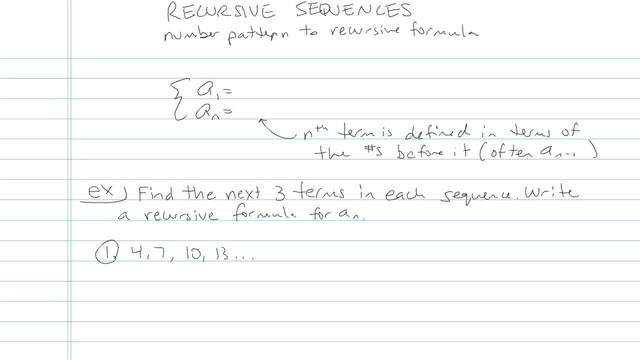 Recursion Sequences - Problem 6
