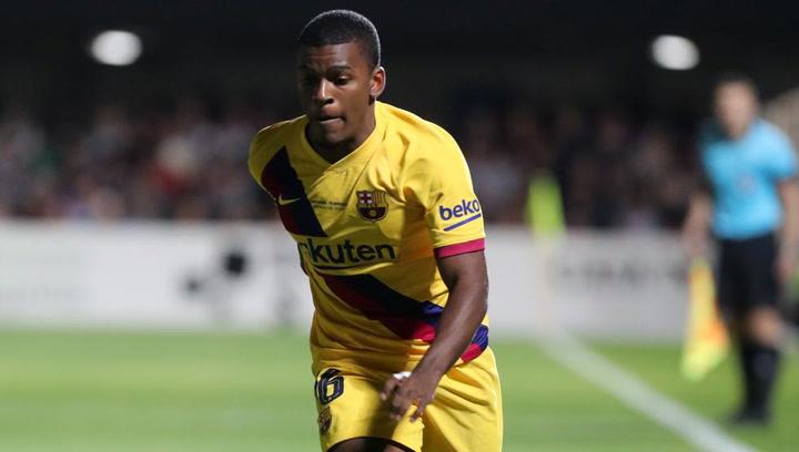 Así juega Sergio Akieme, jugador del Barça B