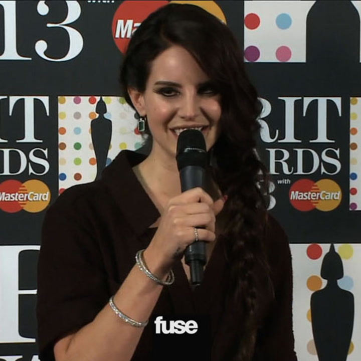 """Lana Del Rey """"Honored and Excited"""" by BRIT Awards Win"""