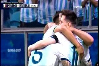 Argentina hace la tarea y vence a Qatar para meterse en cuartos de final de la Copa América