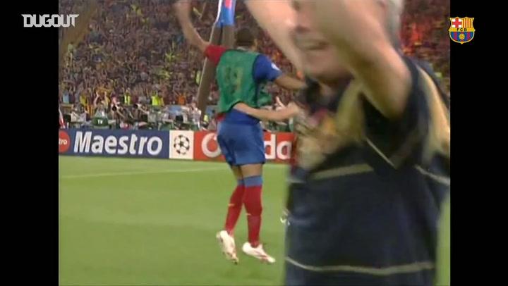 عودة بالذاكرة: احتفالات لاعبي برشلونة بلقب دوري الأبطال ٢٠٠٩