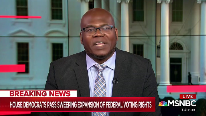 MSNBC's Amandi: Dem Wil Toss 'Racist' Filibuster to Pass Voting Rights with Kamala Harris Tiebreaker