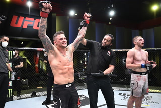 What's Next for Dustin Poirier, Mike Perry Praises his Girlfriend's Corner Work  at UFC on ESPN 12