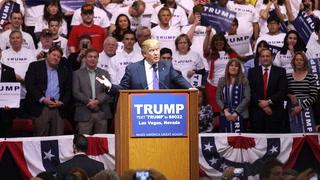 Trump Before The Caucuses
