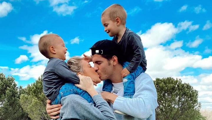 """Morata muestra el latido del corazón de su tercer hijo: """"Pocas cosas más emocionantes..."""""""