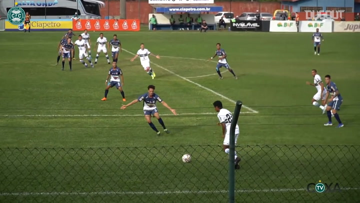 Coritiba beat Cianorte in the first leg of Paranaense semifinals