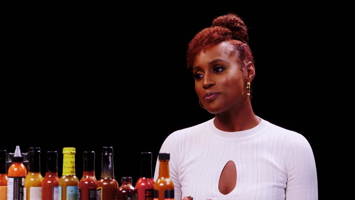 Issa Rae: Hot Ones