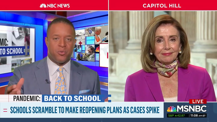 Pelosi: 'I'm Very Afraid of Where We Are Now' Because of Trump Administration's Ignorance