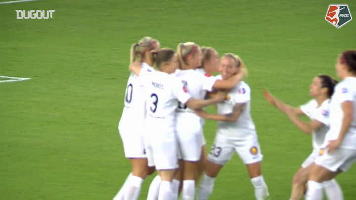 Utah Royals FC's First Goal In Franchise History
