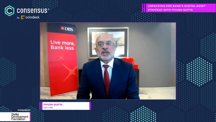 CEO Piyush Gupta: DBS Bank Thinks of Itself as Tech Company Offering Financial Services
