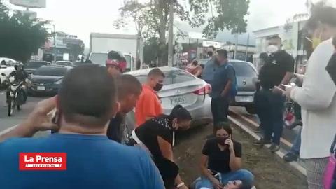 Atentan contra la periodista hondureña Riccy Moreno en barrio Los Andes de San Pedro Sula