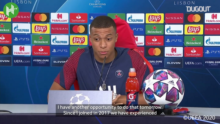 Mbappé: I always wanted to write the history of French football