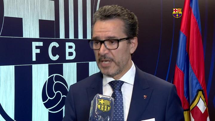 """El Barça expresa """"su satisfacción"""" por la sentencia del caso Neymar"""