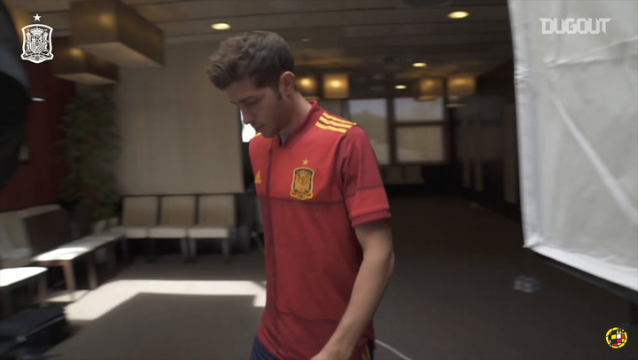 New Spain internationals take part in photoshoot