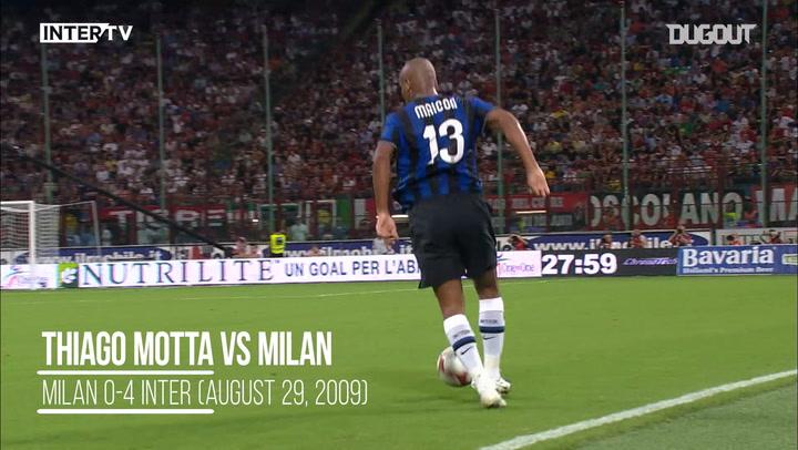 Team Goals: Thiago Motta Vs Milan