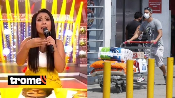 """Tula Rodríguez pide calma a personas que salieron a comprar papel higiénico: """"¡No hay escasez de productos!"""""""