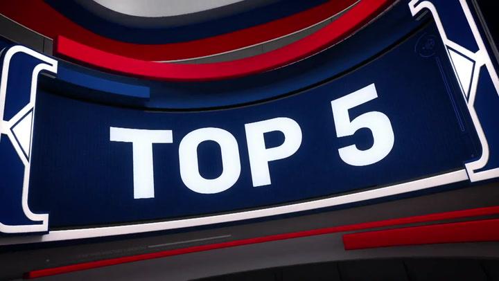 Las 5 mejores jugadas de la jornada de la NBA del 9 de marzo 2020