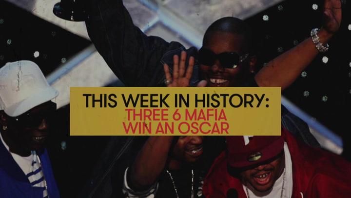 Three 6 Mafia Wins an Oscar: This Week in History