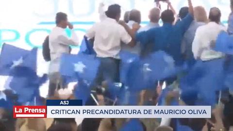 Critican precandidatura de Mauricio Oliva