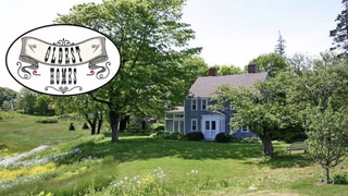 Rustic Island Residence Is the Oldest Home in Maine on the Market