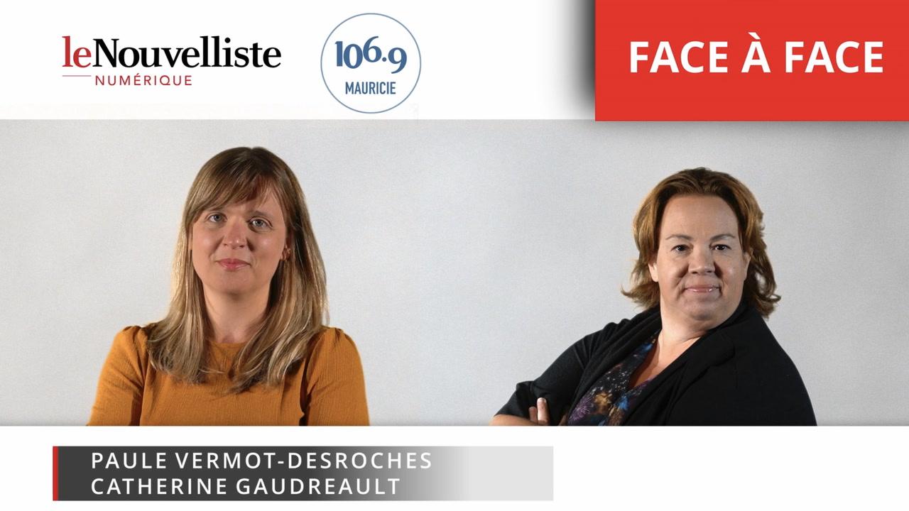 Catherine Gaudreault et Paule Vermot-Desroches: face-à-face [VIDÉO]