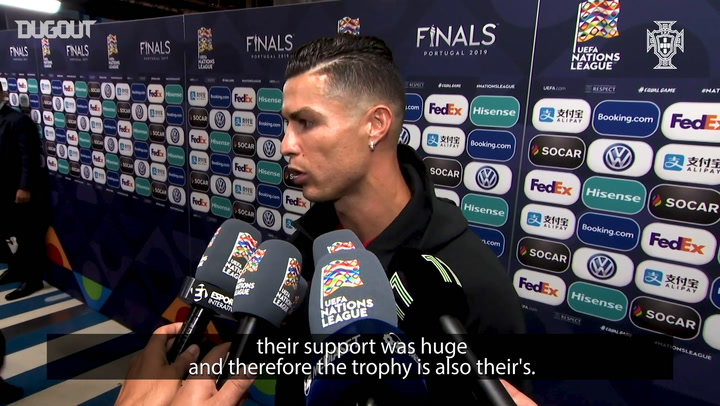 Ronaldo: 'I Like Playing, But Cristiano Is Not Eternal'