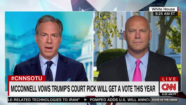Marc Short on SCOTUS: Trump Put Out His List But 'We Still Haven't Seen a List From Joe Biden'