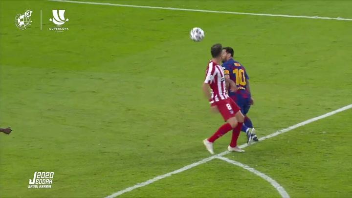 Distinto criterio del VAR en acciones casi idénticas de Barça y Madrid