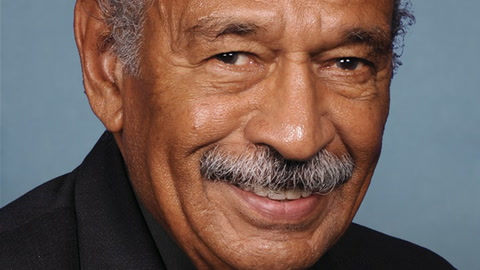John Conyers'  Unlikely Endorsement