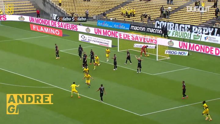FC Nantes' top five goals against Nîmes Olympique