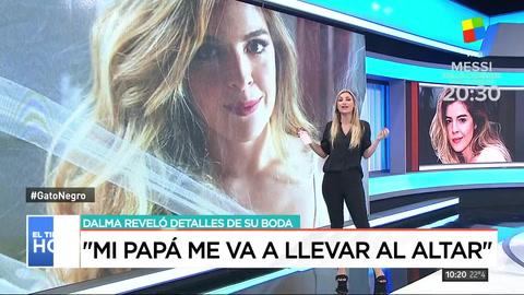 Dalma Maradona reveló detalles de su boda
