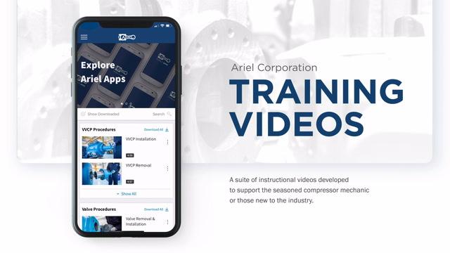 Ariel Training Videos App