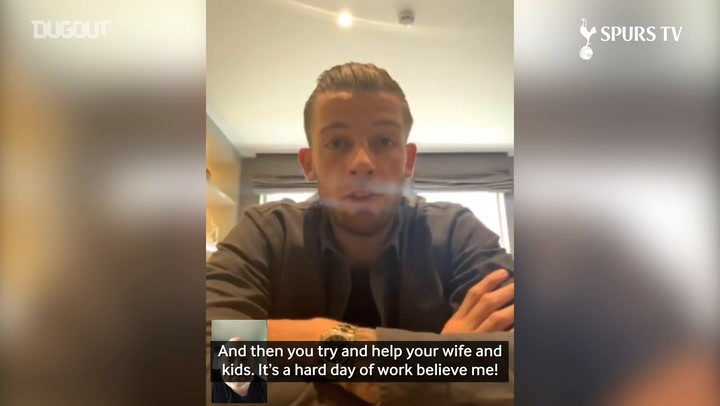 Toby Alderweireld on staying in shape during isolation