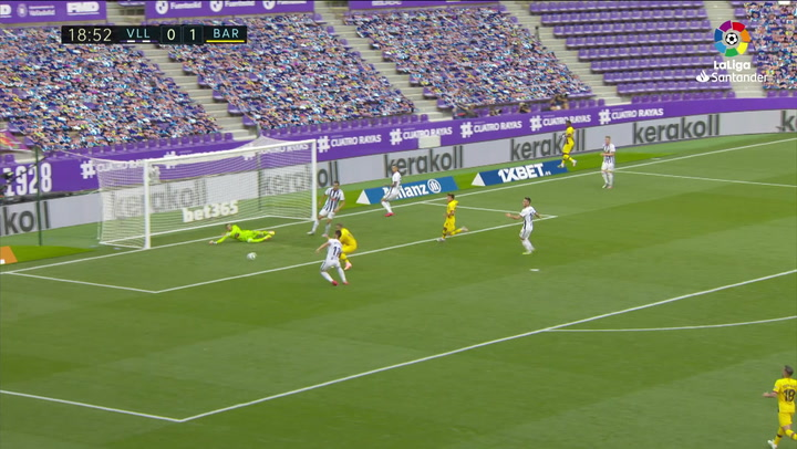 Griezmann no tuvo su día ante el Valladolid: ocasión clarísima al limbo