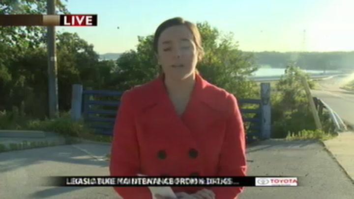 update: fire department clears grand glaize bridge fuel spill