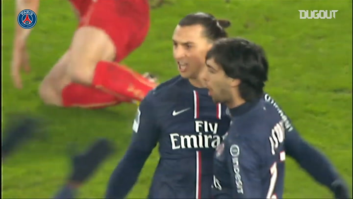 Zlatan Ibrahimovic's hat-trick vs Valenciennes in 2012