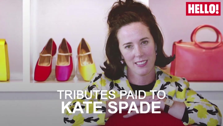 Kate Spade  Celebrity Tributes Pour In