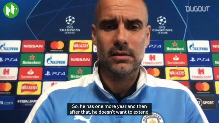 Guardiola: Eric García does not want to extend his contract