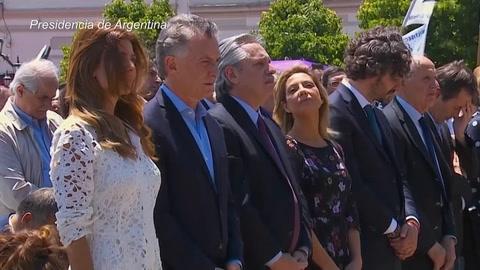 Iglesia católica llama a unir Argentina en misa con Macri y Fernández