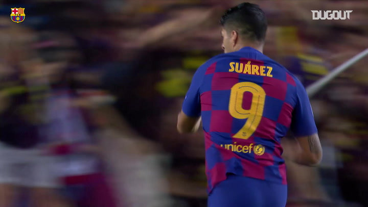 Luis Suárez's Stunning Volley Vs Inter